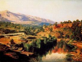 Paisaje Del Ebro  (Landscape Ebro)