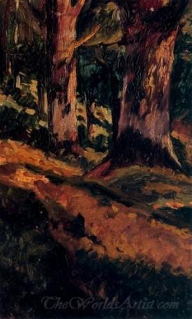 Entre Arbres  (Between Trees)