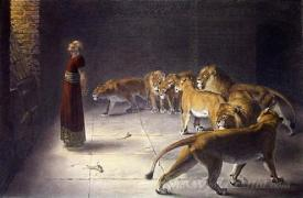Daniels Answer To The King  (Daniel In The Lions Den)