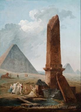 The Farandole Amidst Egyptian Monuments