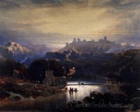 The Castle Of Alcal De Guadaira