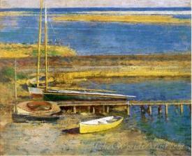 Boats At A Landing