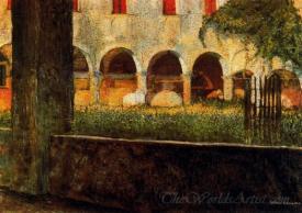 Cloister Of San Onofrio