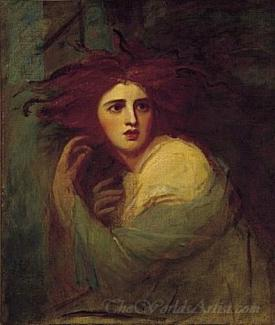 Lady Hamilton As Medea