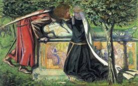 Arthurs Tomb The Last Meeting Of Lancelot And Guinevere