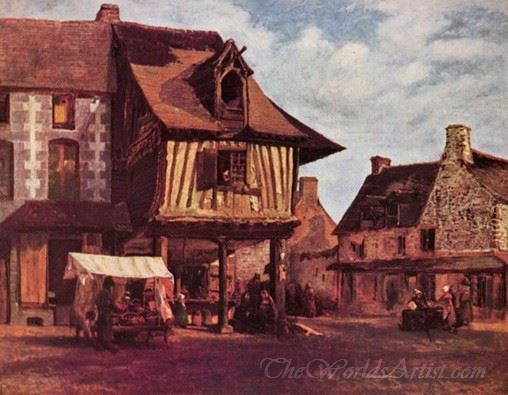 Market In Normandy