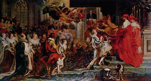 Coronation Of Marie De Medici