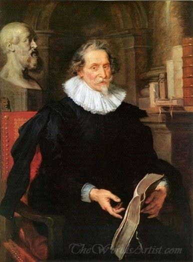 Portrait Of Ludovicus Nonnius