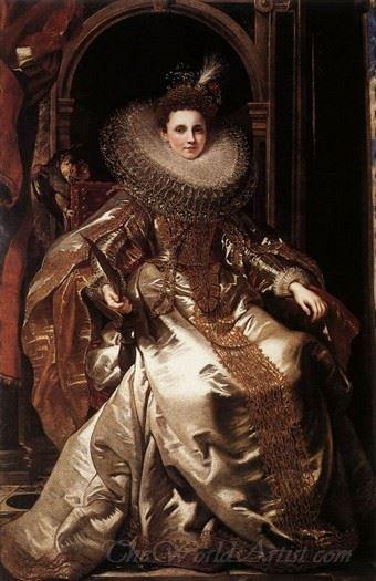 Portrait Of Maria Serra Pallavicino