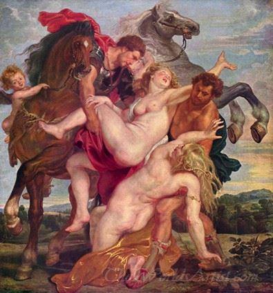 The Rape Of The Daughters Of Leucippus