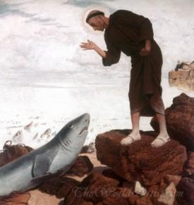 St Anthony Preaches The Fish