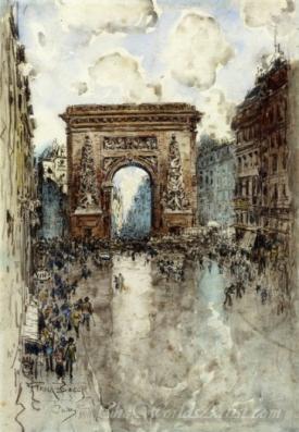 La Porte St Denis Paris