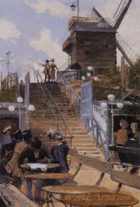 Paris Le Moulin De La Galette