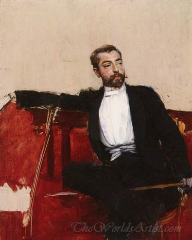 A Portrait Of John Singer Sargent