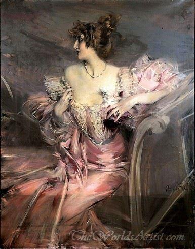 Portrait Of Marthe De Florian