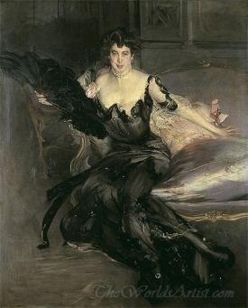 Portrait Of A Lady Mrs Lionel Phillips