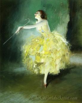 Vaudeville Dancer