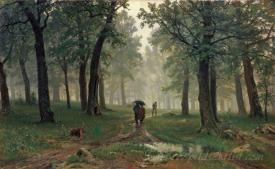 Rain In An Oak Forest