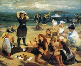 South Beach Bathers