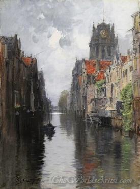 Behind The Groote Kirk Dordrecht