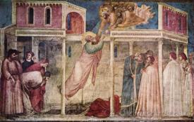 Ascension Of The Evangelist John