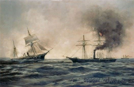 The Sinking Of The Css Alabama