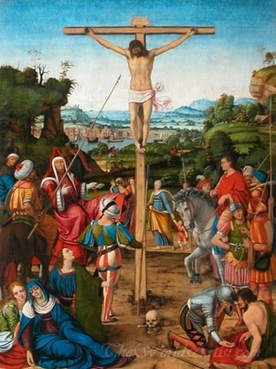The Crucifixion Christ On The Cross