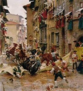 La Ripresa Dei Barberi  (The Capture Of Barberi)