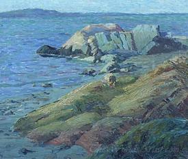 Rocks At Booth Bay