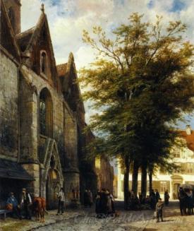 St Josephs Church In Hamelen