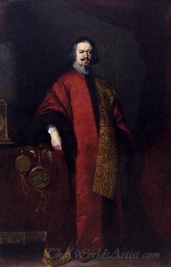 Portrait Of The Knight John Grimani