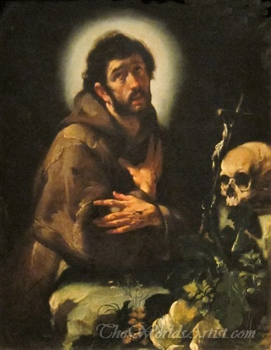 St Francis In Ecstasy