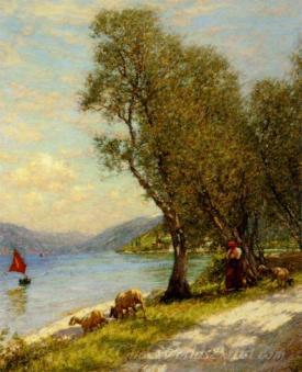 Veronese Shepherdess Lake Ganda