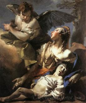 The Angel Succouring Hagar