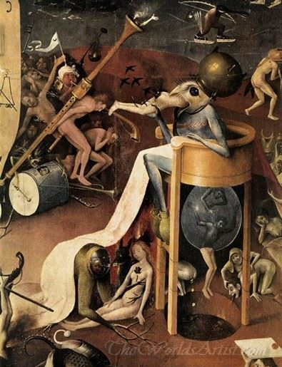 Triptych Of Garden Of Earthly Delights 22