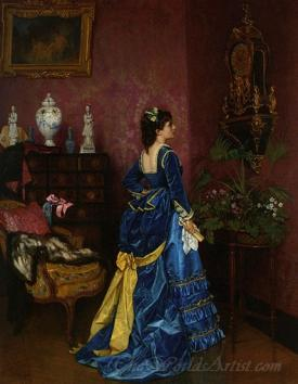 Le Robe Bleu  (The Blue Dress)