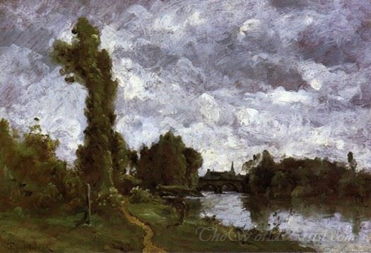 Banks Of A River