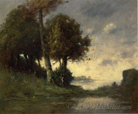 Banks Of The Marne Near Angers
