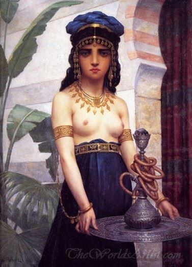 The Harem Servant Girl  (Servante Du Harem)