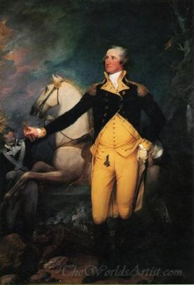 General George Washington At Trenton
