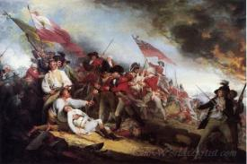 The Death Of General Warren At The Battle Of Bunkers Hill