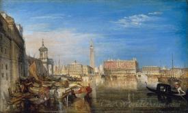 Bridge Of Sighs Ducal Palace And Custom House Venice