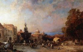 A Market In Naples