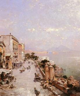 A View Of Posillipo Naples