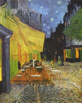 Cafe Terrace At Night  (The Cafe Terrace On The Place Du Forum)