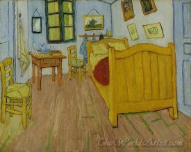 The Bedroom In Arles