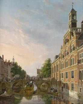 The Old Women And Children Home At The Spui