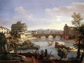 The Castel Sant Angelo From The South