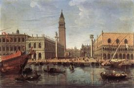 The Piazzetta From The Bacino Di San Marco