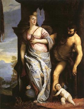 Allegory Of Wisdom And Strength The Choice Of Hercules